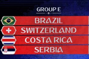 Mondiali 2018, Girone E: squadre, classifica e calendario partite