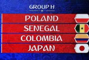 Mondiali 2018, Girone H: squadre, classifica e calendario partite