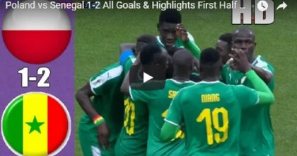 YOUTUBE Polonia-Senegal 1-2 (Cionek, Niang, Krychowiak) VIDEO-GOL-HIGHLIGHTS