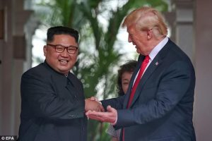 "Trump-Kim, al pranzo mix di Asia e Occidente. ""Fateci apparire belli e magri"""