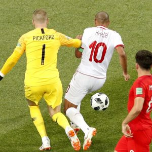 Tunisia-Inghilterra 1-1 highlights-pagelle Sassi ha risposto a Kane