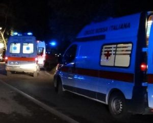 roma incidente gra