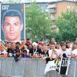 Cristiano Ronaldo-Juventus, Cr7 day a Torino (foto Ansa)