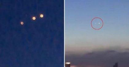 Ufo in Cina: misteriosi oggetti volanti nei cieli di Chongqing