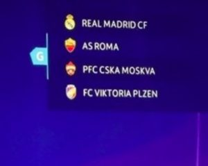 Calendario Partite Champions.Champions League 2018 2019 Calendario Partite Roma Orario E
