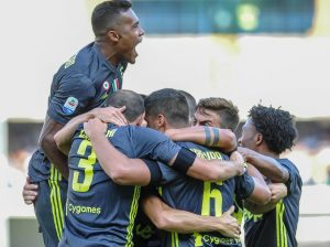 Chievo-Juventus 2-3, highlights e pagelle: Bernardeschi gol decisivo