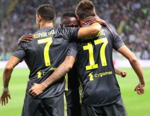 Risultati immagini per Cristiano Ronaldo non segna ma la Juve vince a Parma. Nainggolan lancia l'Inter