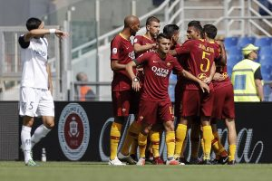 Roma-Chievo 2-2 highlights e pagelle, Stepinski gela lo Stadio Olimpico