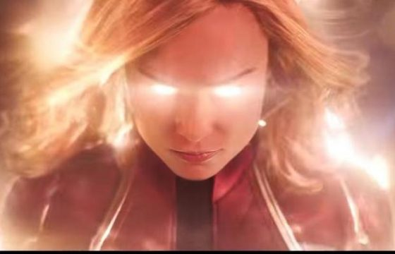Captain Marvel, Brie Larson nel primo trailer italiano