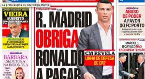 "Cristiano Ronaldo, from Portugal: ""Real Madrid forced him to pay Kathryn Mayorga"""
