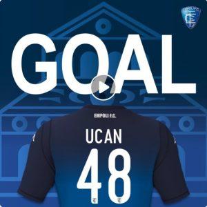 Frosinone-Empoli 3-3 highlights-report, Ucan great goal video