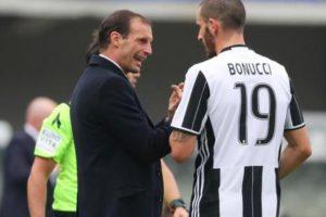 """Bonucci: """"I dream of coaching Juventus"""". Allegri is advised ..."""