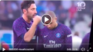 Psg, Buffon scolds Mbappé for having delayed the VIDEO training