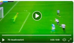 Fabian Ruiz Udinese-Napoli goal video, a film library network