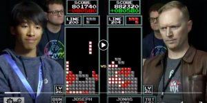 Usa, the incredible undertaking of 16 year old Joseph Saelee: beaten the 7 times Tetris world champion Jonas Neubauer