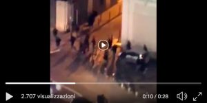 Marseille-Lazio, clashes between fans (VIDEO) and crowbar in front of hotels with Lazio fans