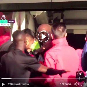 Mourinho-Sarri, VIDEO rissa sfiorata dopo pareggio Chelsea al 96'