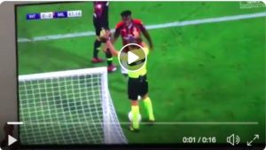 Musacchio video of the goal canceled for offside during Inter Milan