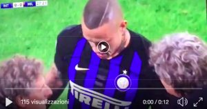 Sprained ankle for Nainggolan, he risks missing Barcelona-Inter