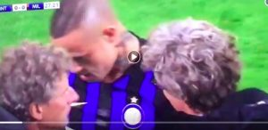 Inter-Milan, Nainggolan comes out of injury after clash with Biglia (VIDEO)