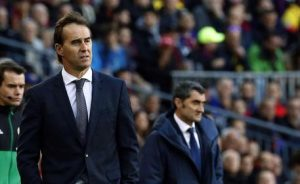 Real Madrid: Lopetegui exonerated, team at Solari. Sergio Ramos does not want Count