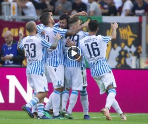 Roma-Spal 0-2 highlights-pagelle: Petagna-Bonifazi gol, Milinkovic Savic espulso