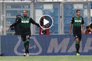 Sassuolo-Bologna 2-2 highlights e pagelle, Boateng gol decisivo