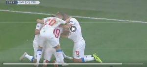 Slovakia-Czech Republic 1-2 highlights: Schick devastating, Skriniar in crisis. Hamsik goal that is not enough