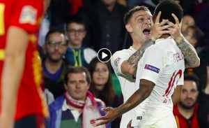 Nations League: England humiliates Spain (highlights). Switzerland flies, Dzeko doubles. The point on the groups