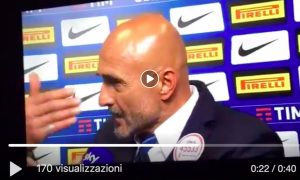 "Spalletti, VIDEO lite with Alciato di Sky after Inter Milan: ""You have to tell the truth, we won because ..."""