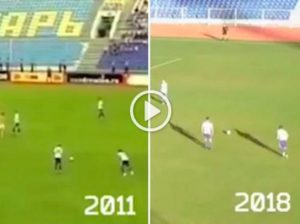 Roman Loktionov, after 7 years, scored the same goal for the same team (VIDEO)