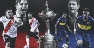 Boca-River, the Copa Libertadores final, was postponed due to a storm that hit Buenos Aires