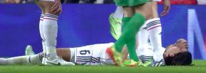 Juventus, infortunio Khedira: distorsione alla caviglia in allenamento