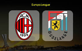 Milan-Dudelange streaming e diretta tv, dove e quando vederla