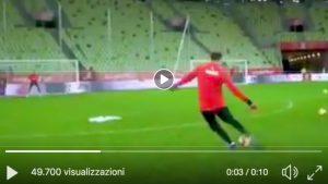 """Szczesny meglio di Cristiano Ronaldo (VIDEO): """"Ti insegno a battere le punizioni"""""""