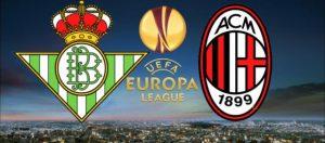 Betis-Milan streaming e diretta tv, dove e quando vederla