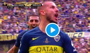 Boca Juniors-River Plate 2-2 highlights finale Copa Libertadores