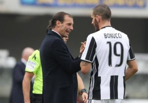 "Bonucci still sparks with Allegri: ""Milan-Juventus? Surprised not to play"""