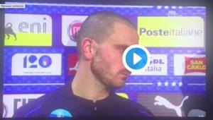 """Bonucci: """"Fischi Italia-Portogallo? Mamma imbecilli sempre incinta"""""""