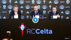 Celta, errore clamoroso del nuovo allenatore Miguel Cardoso: ringrazia squadra rivale durante la presentazione