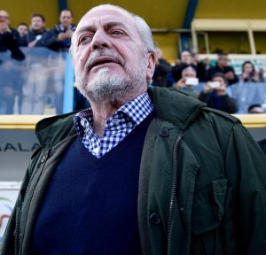 """De Laurentiis: """"Con fatturato Juve avrei vinto 10 scudetti. Ci metto 2 secondi a fare un altro stadio..."""""""