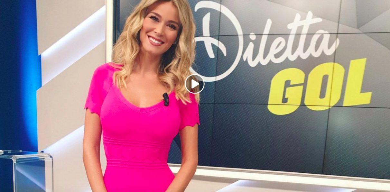 Diletta Leotta Calendario.Diletta Gol Diletta Leotta Incanta Tutti Con Abito Aderente