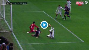 Real Madrid umiliato ad Eibar prima della gara di Champions contro la Roma, gli highlights