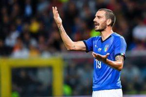 Italia-Portogallo: fischi a Bonucci e all'inno portoghese, insulti a Rui Patricio