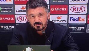 """Gattuso jokes with Carolina Morace: """"When he comes to see our training ..."""""""