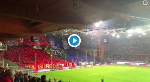 Genoa-Sampdoria, VIDEO e FOTO, striscioni e coreografie del derby della Lanterna