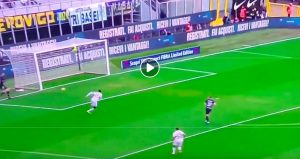 Handanovic (VIDEO) who ducks in Inter-Genoa but Kouame grace him