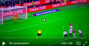 Higuain shoots where he says Szczesny and misses the penalty in Milan-Juventus VIDEO