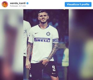 """Icardi touches the lower parts, Wanda Nara: """"What are you doing, my baby?"""""""