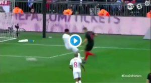 Inghilterra-Croazia 2-1 highlights, Inghilterra alla Final Four, Croazia in Serie B